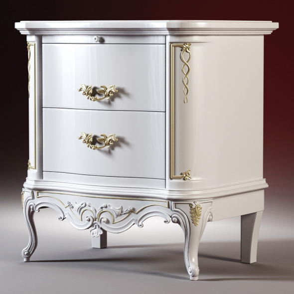 High quality model of the bedside tables - 3DOcean Item for Sale