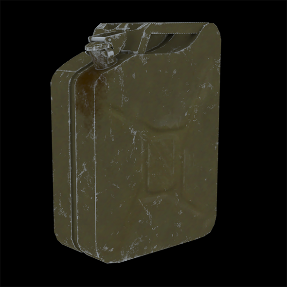 Jerrycan - 3DOcean Item for Sale