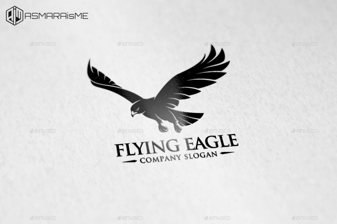 Flying eagle logo template by asmaraisme graphicriver preview setpreview setg altavistaventures Gallery