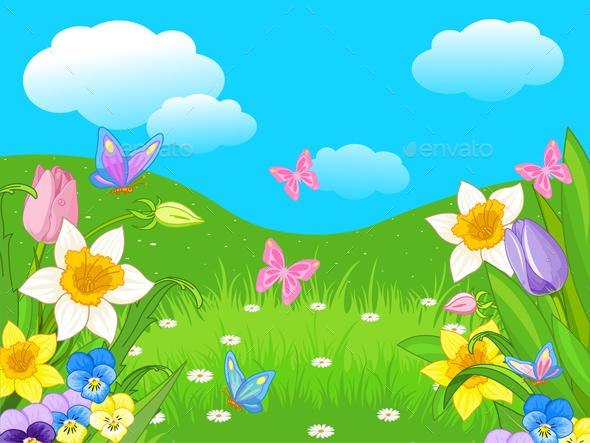 Easter Landscape - Landscapes Nature