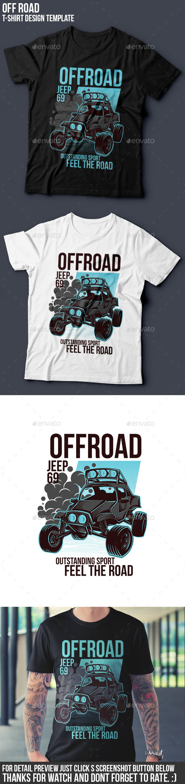 Offroad part 1 t-shirt Design - Sports & Teams T-Shirts