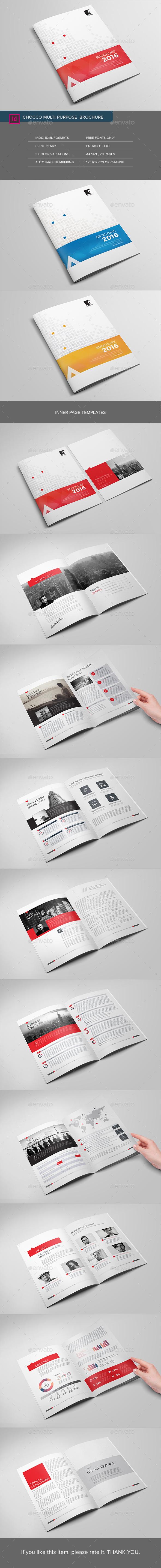 Chocco Multipurpose Brochure - Corporate Brochures