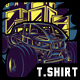 Off Road in the City T-Shirt Design