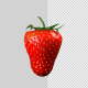 Strawberry With Alpha Channel and Composite Pass - VideoHive Item for Sale