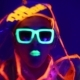 Guy Dancing In Neon Costume - VideoHive Item for Sale