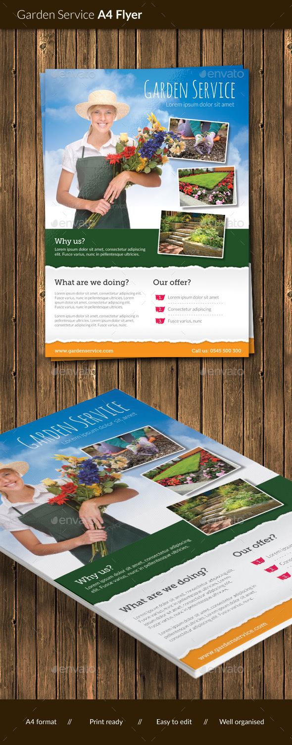 Garden Service Flyer - Corporate Flyers