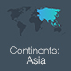 Continents: Asia Keynote Template - GraphicRiver Item for Sale