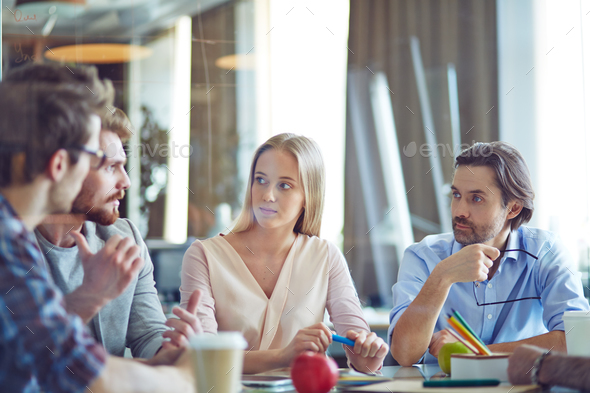 Business team at work - Stock Photo - Images