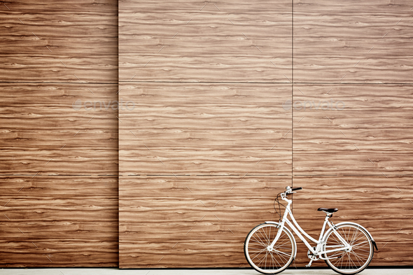 Bicycle outdoors - Stock Photo - Images