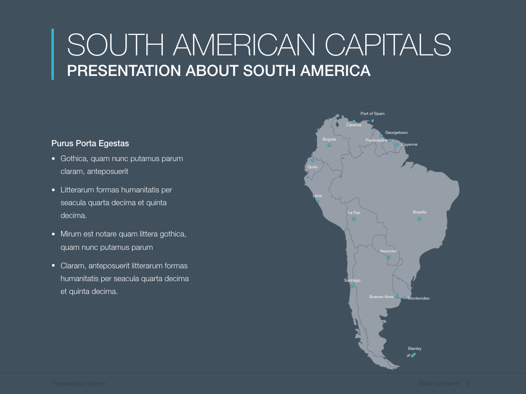 Continents south america powerpoint template by jumsoft graphicriver continents south america screenshots01previeweg continents south america screenshots02previeweg continents south america toneelgroepblik Choice Image