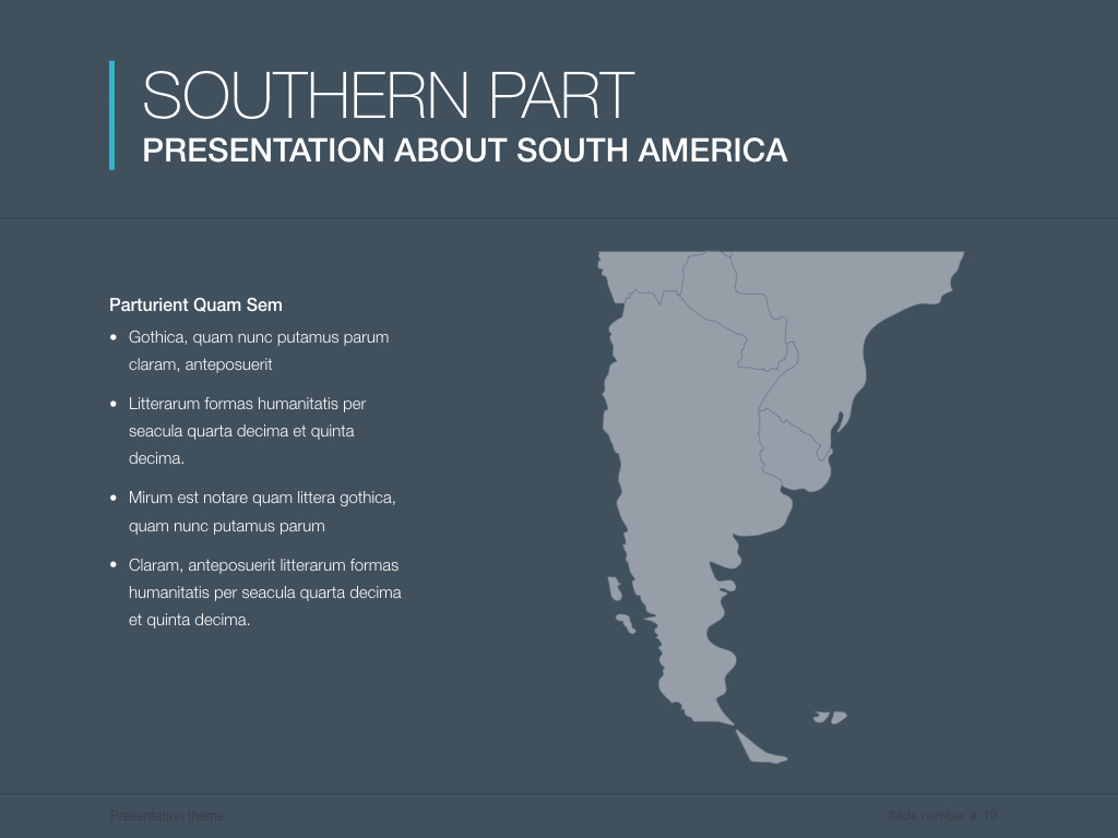 Continents south america powerpoint template by jumsoft graphicriver south america screenshots10previeweg toneelgroepblik Image collections