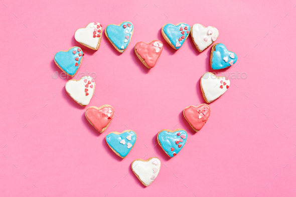 Lovely cookies - Stock Photo - Images