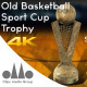 3D Old Basketball Sport Trophy Cup 01 - VideoHive Item for Sale