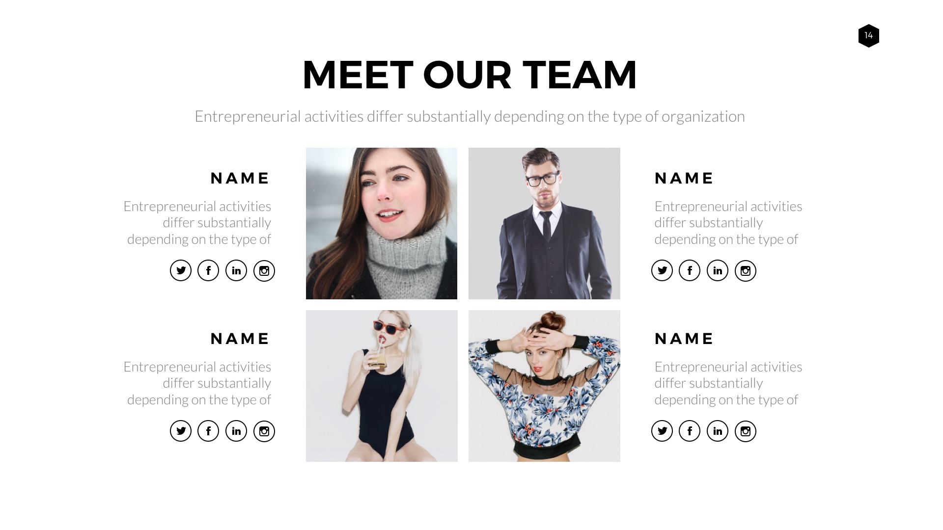 about me powerpoint template
