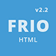 Frio One Page Zurb Foundation Template - ThemeForest Item for Sale