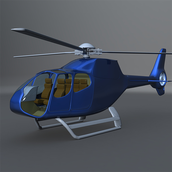 Euro Copter 120b - 3DOcean Item for Sale