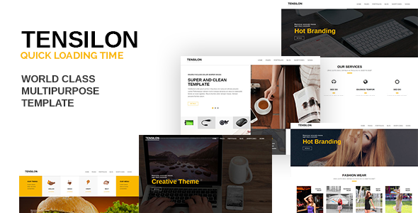 Tensilon – Creative Multi-Purpose Html5 Template