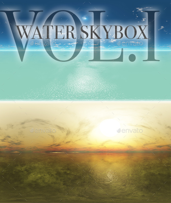 Water Skybox Pack Vol.I - 3DOcean Item for Sale