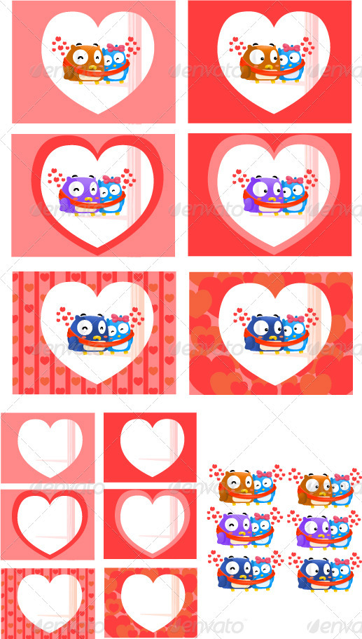 Owl in love - Valentines Seasons/Holidays