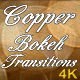 Copper Bokeh Transitions - VideoHive Item for Sale