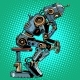 Robot Thinker Artificial Intelligence Progress - GraphicRiver Item for Sale