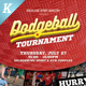 Dodgeball Tournament Flyer Templates - GraphicRiver Item for Sale