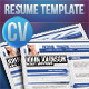 Professional Resume Timeline - GraphicRiver Item for Sale