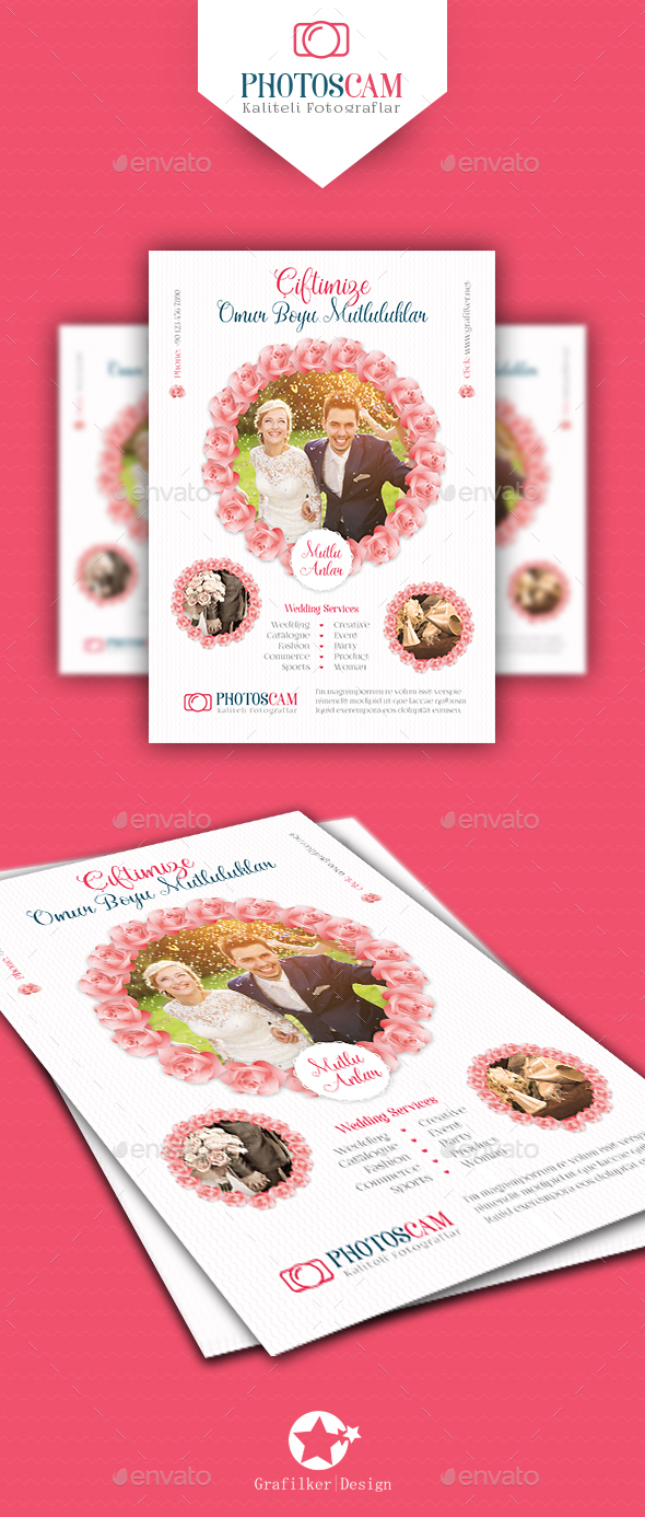 Wedding Flyer Templates - Corporate Flyers