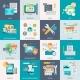 Website Development Concept Icons