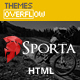 Sporta - Extreme Sports, Manufacture HTML Template Nulled