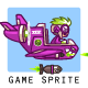 Phantom XXIV Plane Game Sprites - GraphicRiver Item for Sale