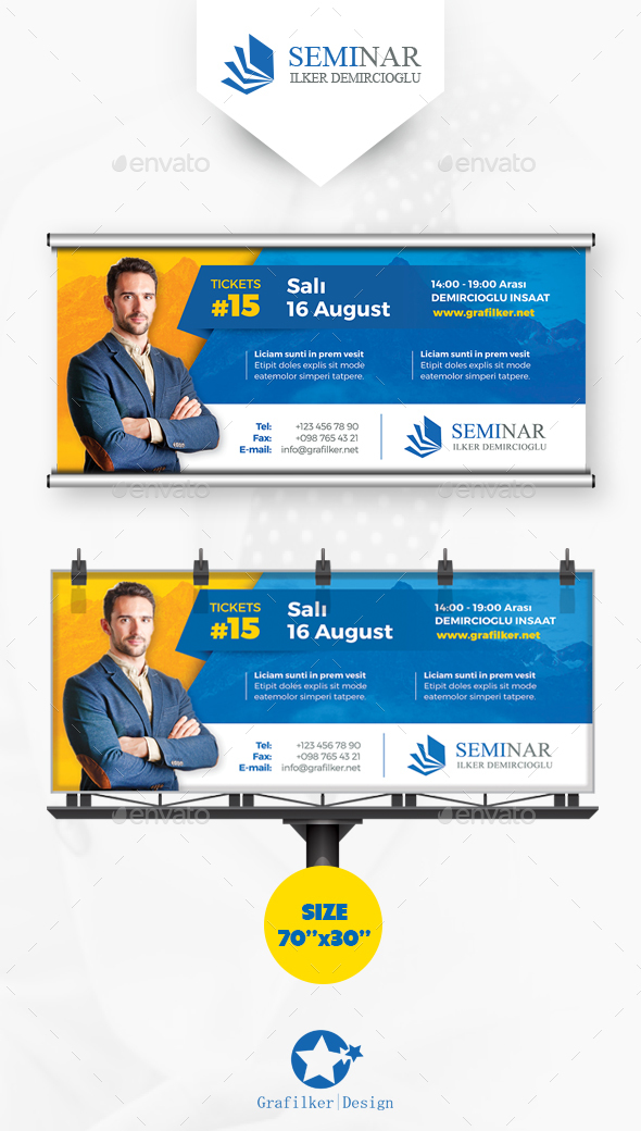 Corporate Billboard Templates - Signage Print Templates