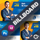 Corporate Billboard Templates - GraphicRiver Item for Sale