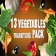 Vegetables Transitions Pack - VideoHive Item for Sale