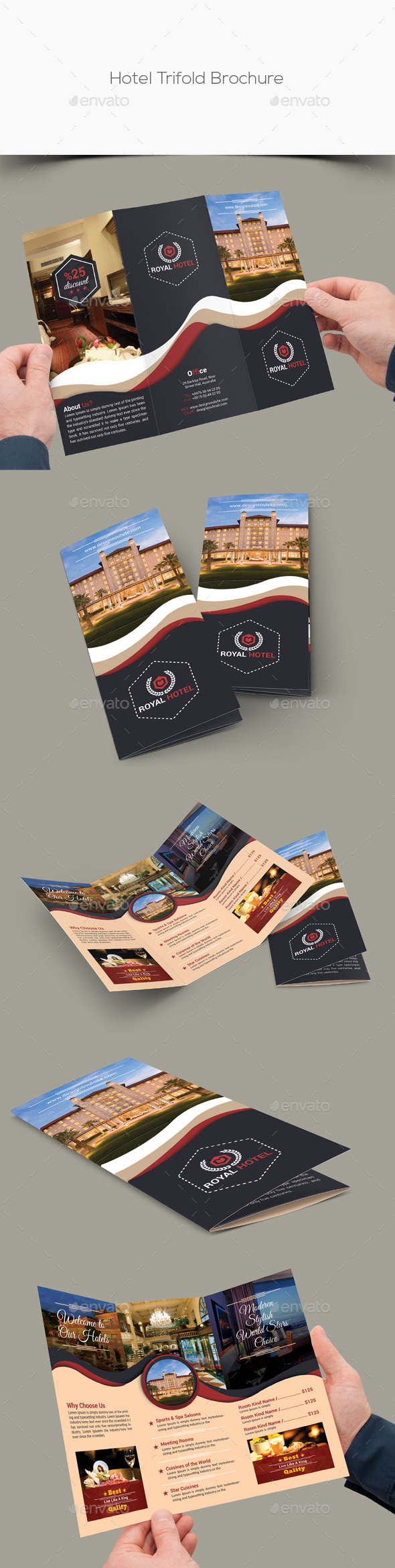 Hotel Trifold Brochure - Corporate Brochures