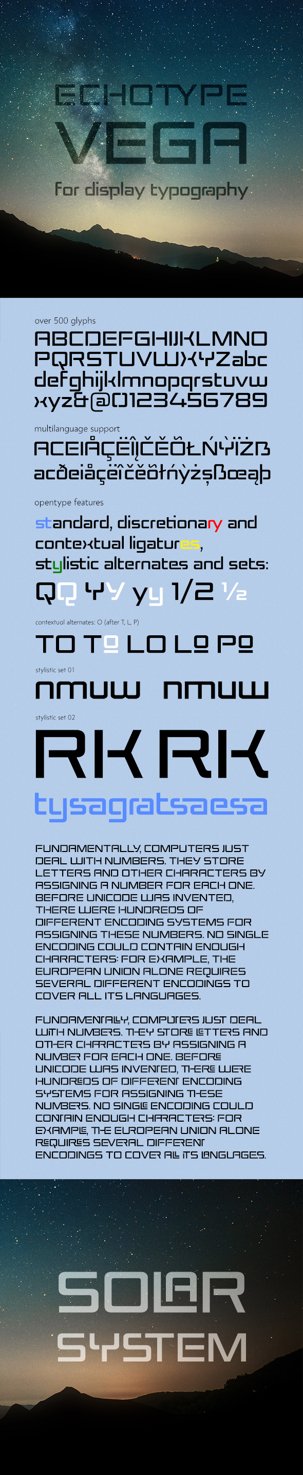ET Vega - Sans-Serif Fonts