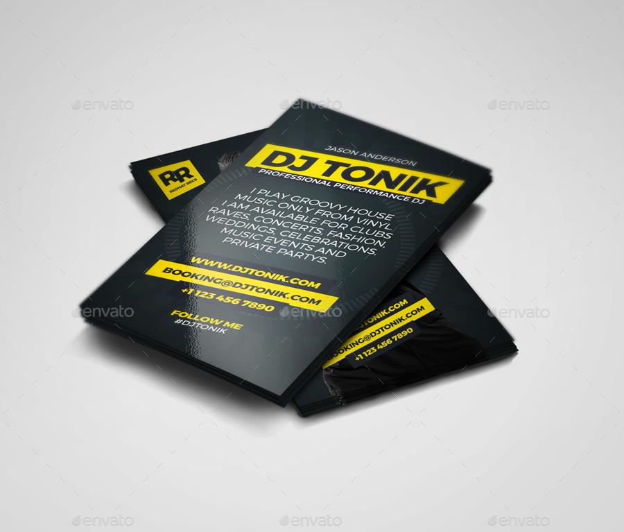 Prodj dj producer business card psd template by vinyljunkie 001previewg colourmoves