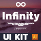 Infinity Header - UI Kit - GraphicRiver Item for Sale