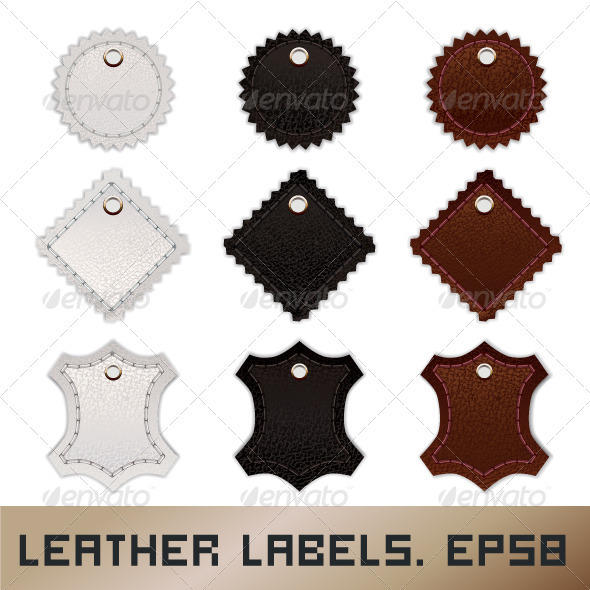 Leather Labels - Retail Commercial / Shopping