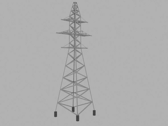 Transmission tower - 3DOcean Item for Sale