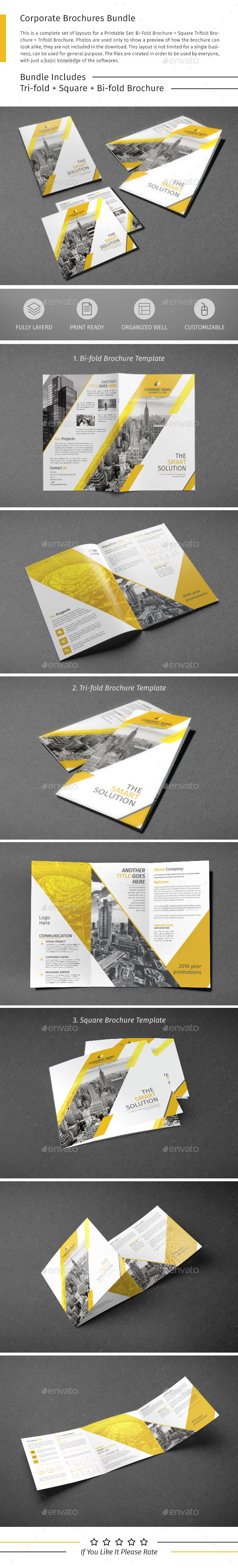 Brochure Bundle 07 - Corporate Brochures