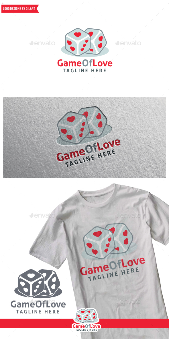 GameOfLove - Abstract Logo Templates