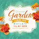 Divine Garden Invitation Template - GraphicRiver Item for Sale