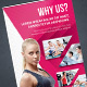 Fitnes & Gym Roll Up - GraphicRiver Item for Sale