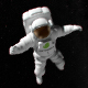 Spaceman Logo - VideoHive Item for Sale
