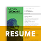A4 Modern Resume - GraphicRiver Item for Sale