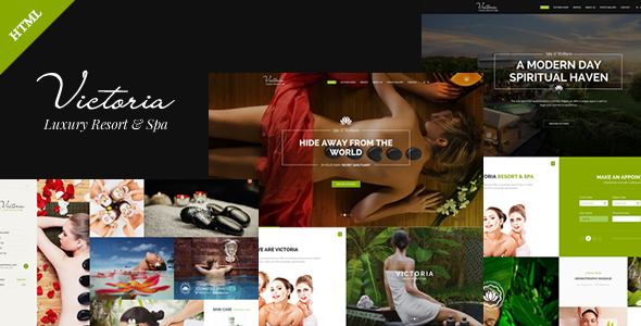 Spa Beauty Spa & Resort - Victoria - Retail Site Templates