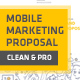 Clean Mobile Marketing Proposal - GraphicRiver Item for Sale