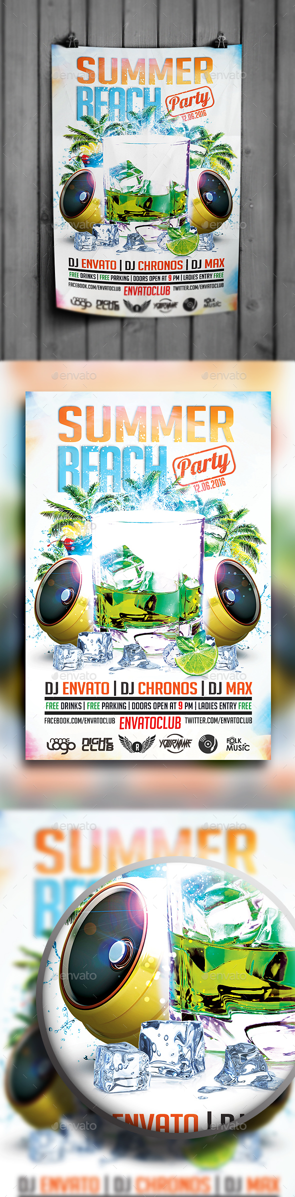 Summer Beach Party Vol.2 - Clubs & Parties Events