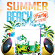 Summer Beach Party Vol.2 - GraphicRiver Item for Sale